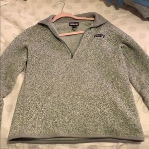 Patagonia women's better sweater quarter zip!